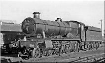 SX9193 : 'Hall' 4-6-0 at Exeter St David's Locomotive Depot by Ben Brooksbank