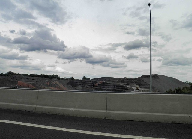 Colliery tip remediation