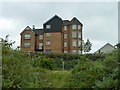 TQ4680 : Flats on Greenhaven Drive, SE28 by Robin Webster