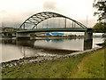 NZ1963 : River Tyne, Scotswood Bridge by David Dixon