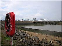 ST1972 : Cardiff bay barrage by Rudi Winter