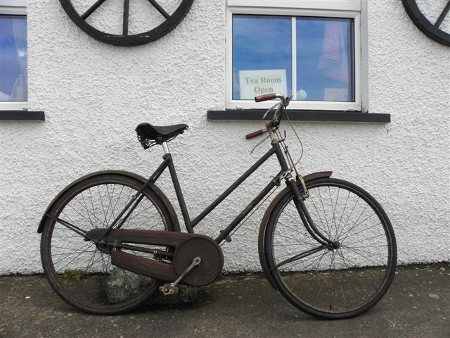 Old bike, Dunluce