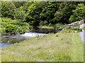 NZ1860 : River Derwent, High Dam by David Dixon