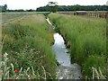 SE5221 : Unnamed drainage dike by Christine Johnstone
