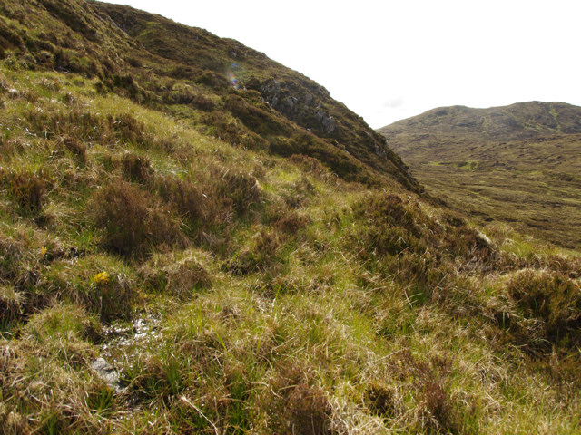 View from path on NE side of Sgurr nan Eun
