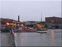 ST5772 : Bristol dockyards by Eirian Evans