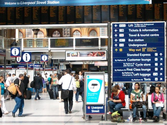 Liverpool Street Station Concourse
