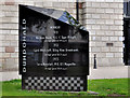 J4874 : Ards TT memorial, Newtownards by Albert Bridge