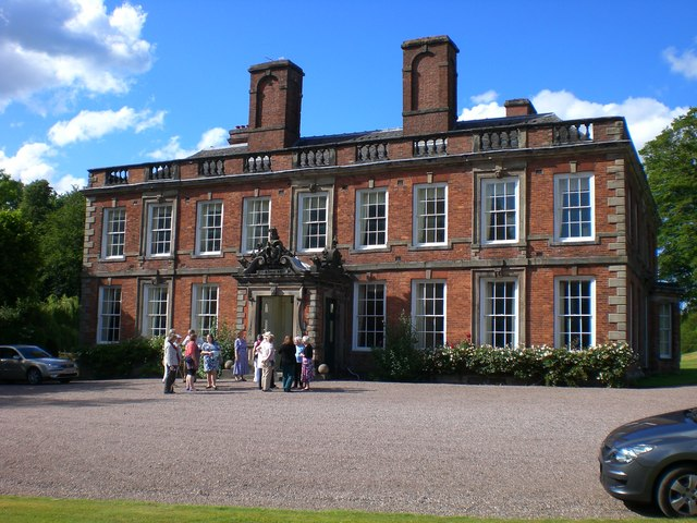 Whitmore Hall from the south