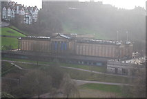 NT2573 : View from the Scott Monument - National Gallery by N Chadwick