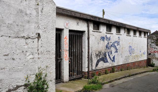 Disused toilets, Donaghadee