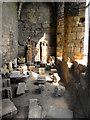 NZ3769 : Tynemouth Priory, Prior's Hall Interior by David Dixon