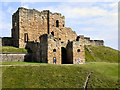 NZ3769 : Tynemouth Castle Gatehouse by David Dixon