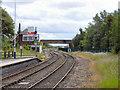 NZ2325 : Shildon Signal Box and Spout Lane Bridge by David Dixon
