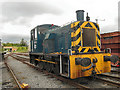 NZ2325 : Class 03 Diesel Shunter at Shildon by David Dixon