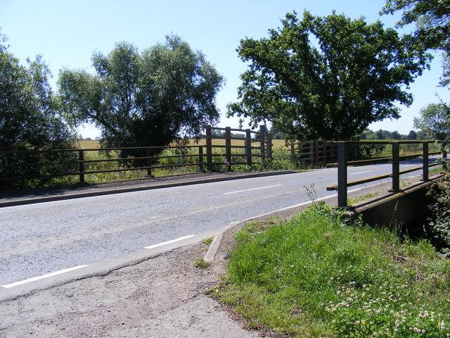 Five Arch Bridge & the B1040 Potton Road
