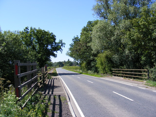 Five Arch Bridge & the B1040 Potton Road
