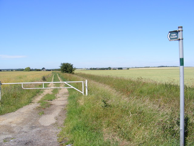 Footpath to Gore Tree Road