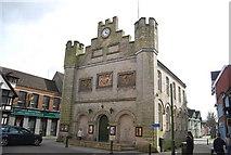 TQ1730 : Former Town Hall, Horsham by N Chadwick