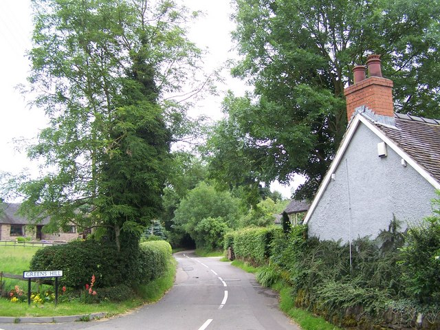 Greens Hill, Delbert