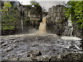 NY8828 : High Force, River Tees by David Dixon