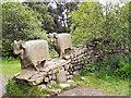 NY9027 : Pennine Way Sheep Sculpture by David Dixon