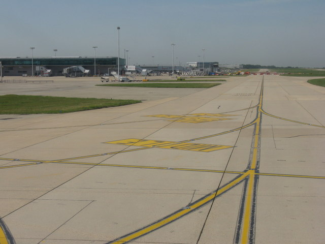 Taxiway at Stansted