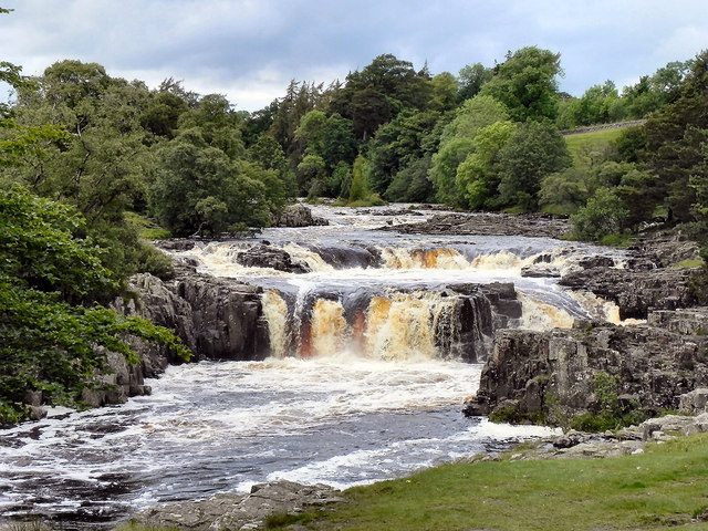 River Tees, Low Force Waterfalls