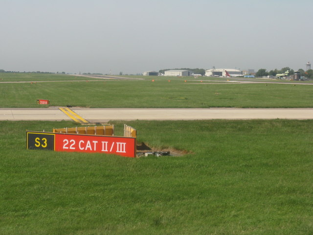 Runway ID information at Stansted