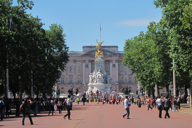 The Mall and Buckingham Palace