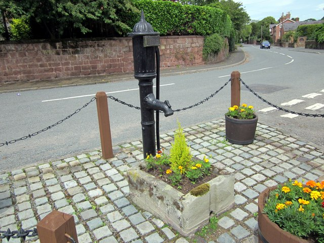 Great Barrow village pump
