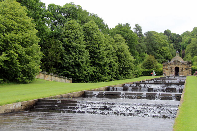 Cascade, Chatsworth House, Derbyshire