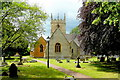 SP0743 : St. James's church Badsey by Jonathan Billinger