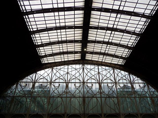 Ironwork at Paddington Station, London