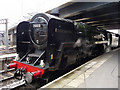 TQ2681 : Oliver Cromwell Steam Locomotive, Paddington Station, London by Christine Matthews
