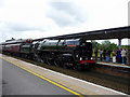 ST2225 : Locomotive Oliver Cromwell at Taunton, Somerset by Christine Matthews