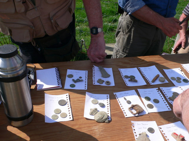 """Finds"" at a metal detectors outing"