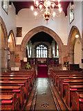 NZ0516 : St Mary's Parish Church (interior) by David Dixon