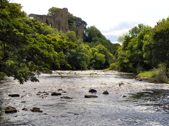 River Tees and Barnard Castle