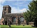 SJ6174 : St Mary's Church, Weaverham by Sue Adair