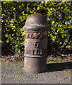 J3082 : Milepost near Glengormley by Rossographer