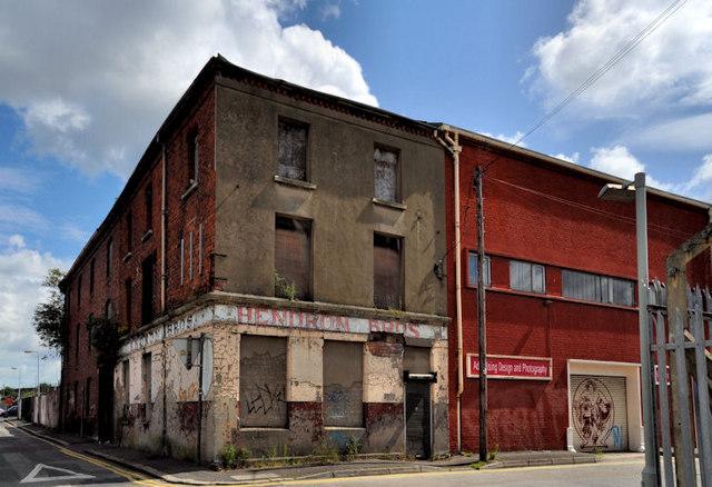 Former Hendron Bros warehouse, Belfast (1)