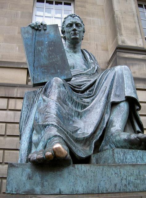 David Hume, unshod