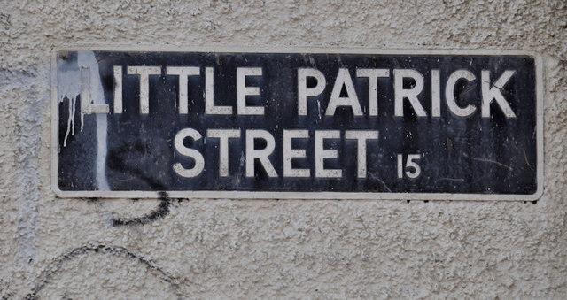 Little Patrick Street sign, Belfast