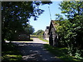 TL2961 : The entrance to Crow's Nest Farm by Adrian Cable