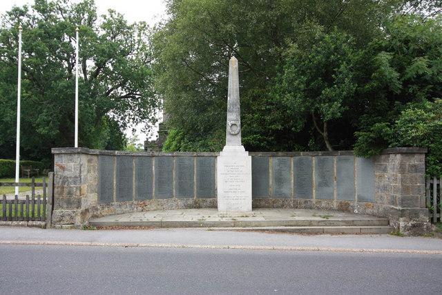 Crowborough War Memorial