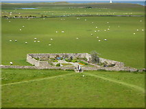NU1341 : Gertrude Jekyll's Garden at Lindisfarne by Peter Barr