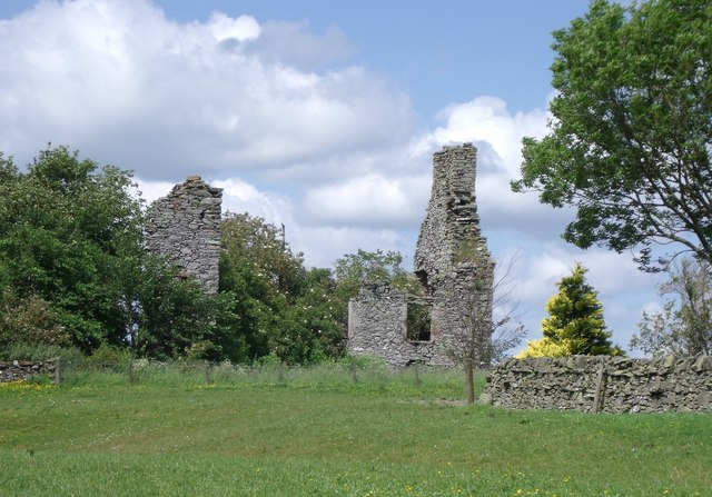 Langshaw Tower ruin
