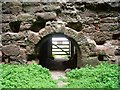 NT7323 : Inside Cessford Castle (4) by Astrid H
