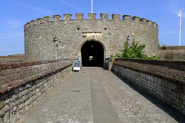 The Entrance to Deal Castle, Kent